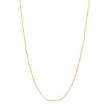 Jebel 18K Gold Plated Ball chain gold plated ketting