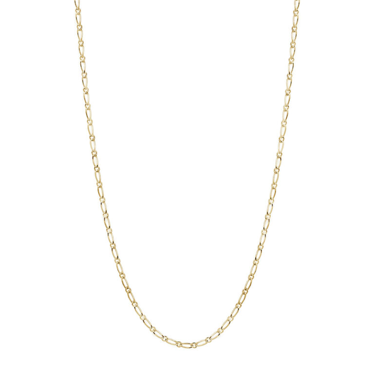 Kimmy 18K Gold Plated Schakel gold plated ketting