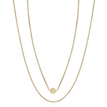 Jackie 18K Gold Plated 2 laags gold plated ketting