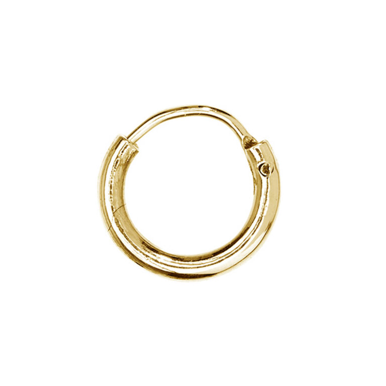 Madee 18K Gold Plated Small circle ring gold plated earring