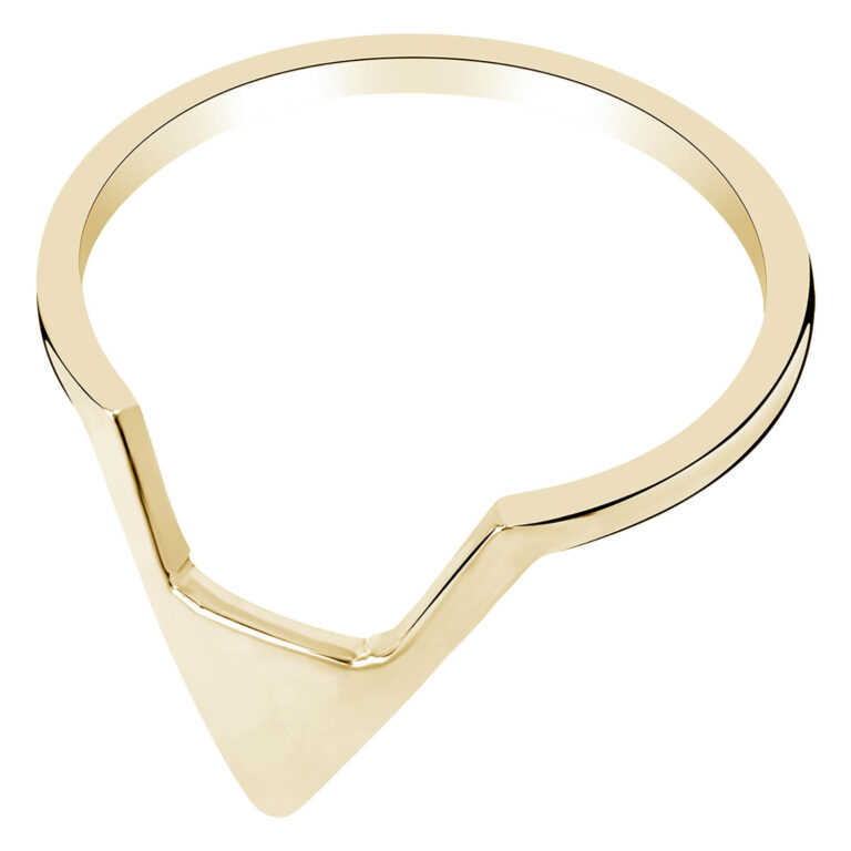 Penney 18K Gold Plated